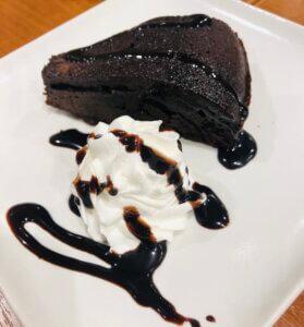 ビッグボーイパスポートの四回目はミニパフェからチョコレートケーキに変わりました!