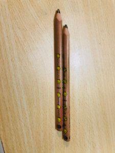Z会でもらった鉛筆が初めてのひらがな学習におすすめ