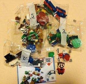 LEGOスーパーマリオ中身
