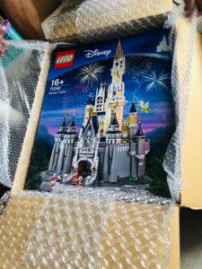 レゴシンデレラ城の箱はデカイ