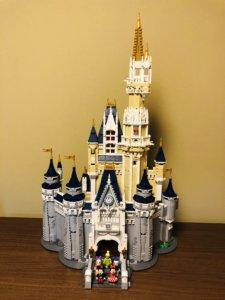 LEGOディズニーシンデレラ城完成!