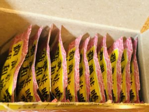 川貝枇杷膏の小分け袋
