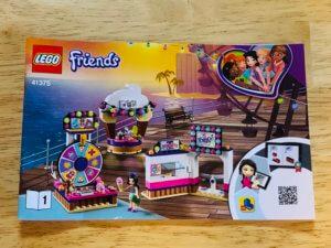 LEGOフレンズハートレイク遊園地取扱説明書1