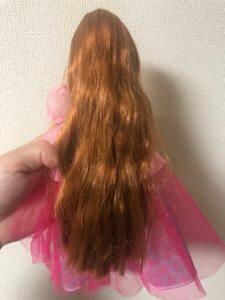 かれんちゃんの髪の毛は長い