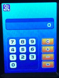 スマホロトムの電卓機能