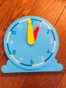Z会年長コースの時計